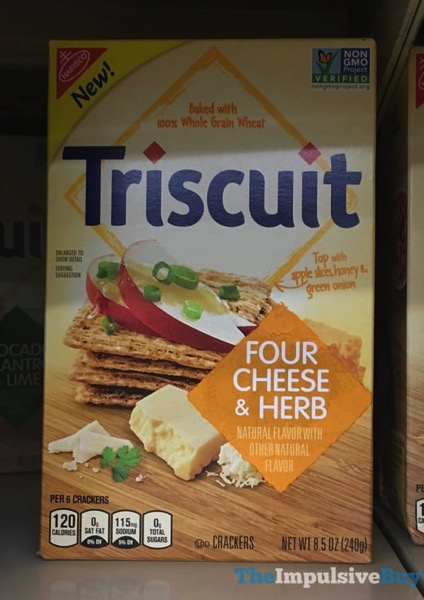 Triscuit Four Cheese  Herb Crackers