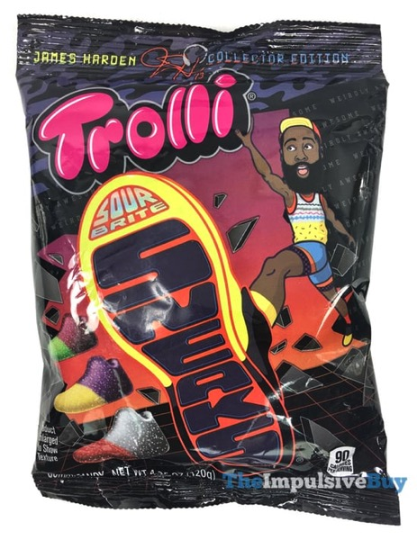 Trolli James Harden Collector Edition Sour Brite Sneaks