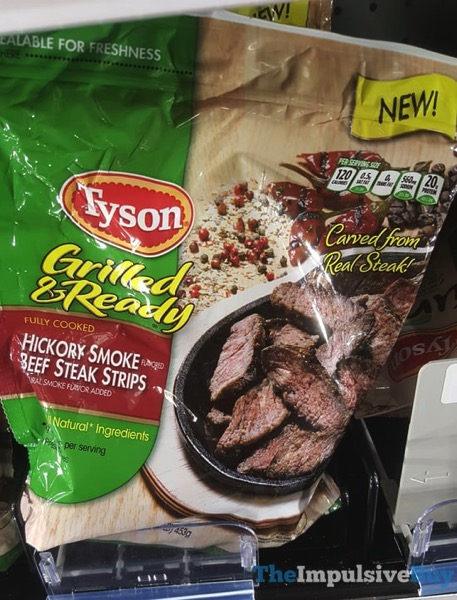 Tyson Grilled  Ready Hickory Smoke Beef Steak Strips