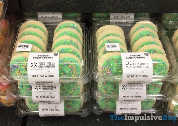 Walmart Spring Frosted Sugar Cookies