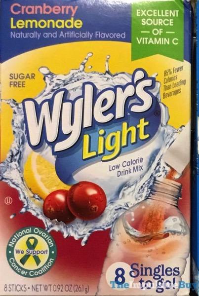Wyler s Light Cranberry Lemonade Singles To Go