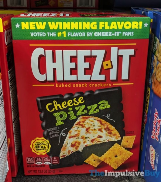 You Choose The Champion Winning Flavor Cheez It Cheese Pizza