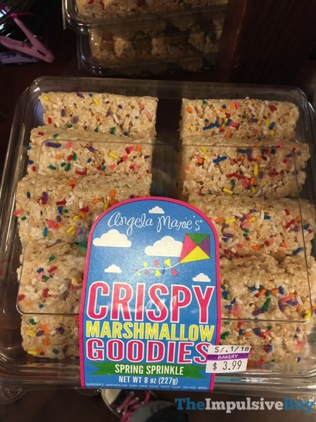 Angelo Marie s Spring Sprinkle Crispy Marshmallow Goodies