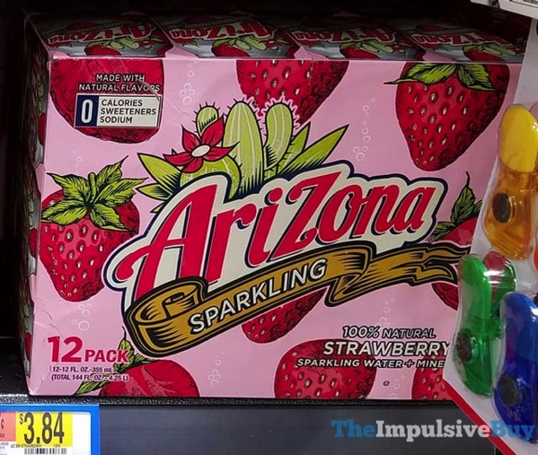 Arizona Sparkling Strawberry Jpg The Impulsive Buy,Black And White Cats Breed