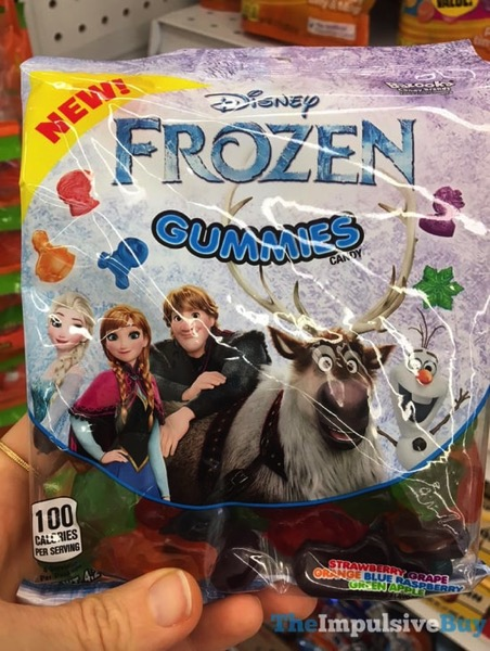Bazooka Disney Frozen Gummies