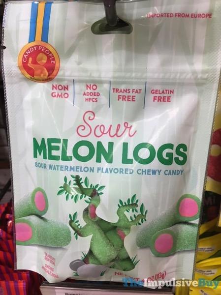 Candy People Sour Melon Logs