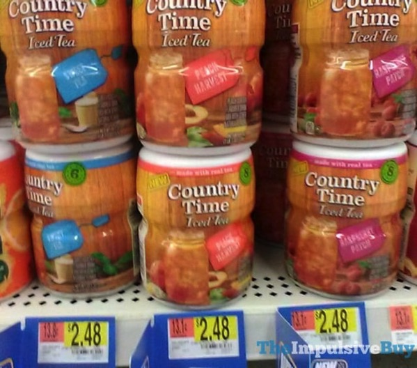 Country Time Iced Tea Mixes  Sweet Tea Peach Harvest and Raspberry Patch