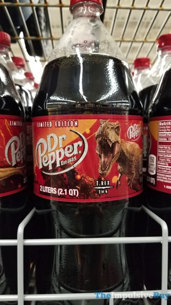 Dr Pepper Limited Edition Jurassic World Collectors Bottle