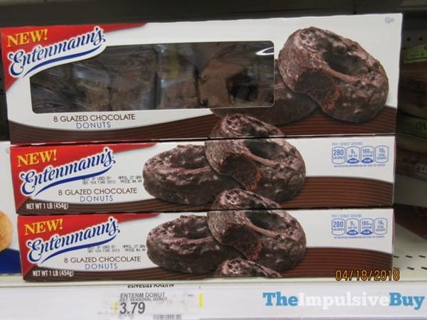 Entenmann s Glazed Chocolate Donuts