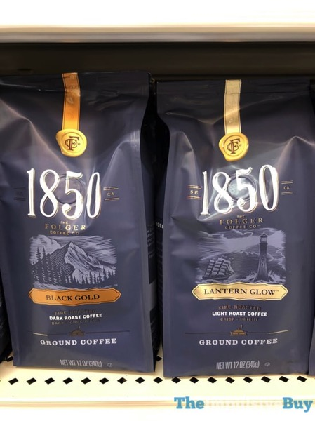 Folgers 1850 Black Gold and Lantern Glow Ground Coffee