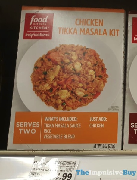 Food Network Kitchen Inspirations Chicken Tikka Masala Kit