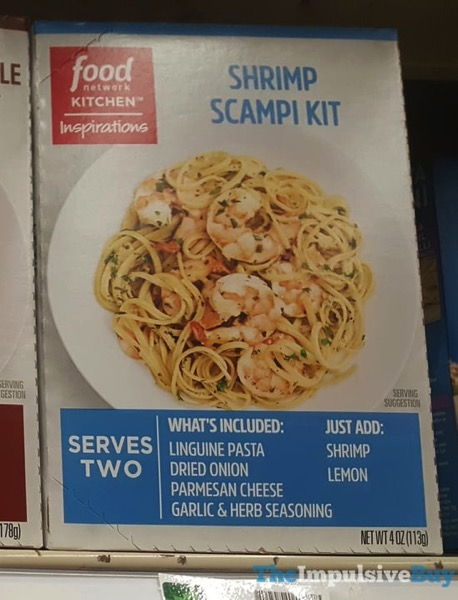 Food Network Kitchen Inspirations Shrimp Scampi Kit