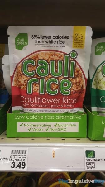 Full Green Vegi Rice Cauliflower Rice with Tomatoes Garlic  Herbs