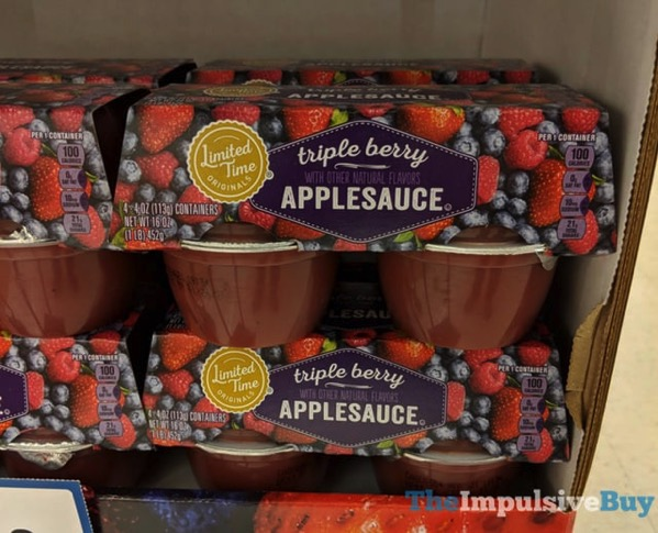 Giant Limited Time Originals Triple Berry Applesauce