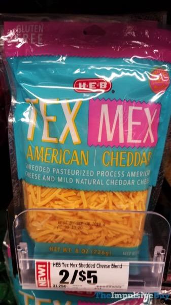 H E B Tex Mex Shredded Cheese Blend