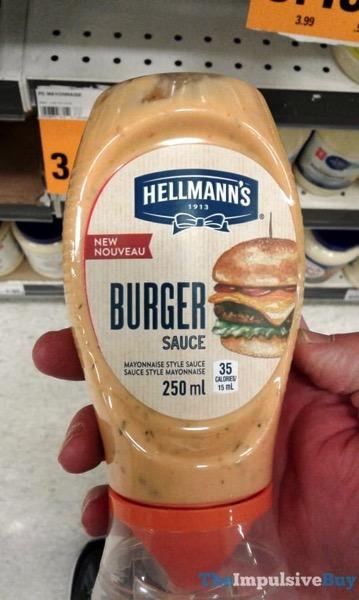 Hellmann s Burger Sauce