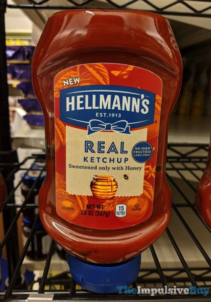 Hellmann s Real Ketchup Sweetened with Honey