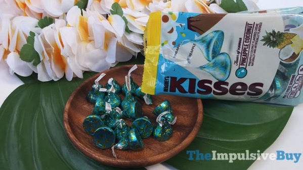 Hershey s Kisses Flavor of Hawaii Pineapple Coconut 2