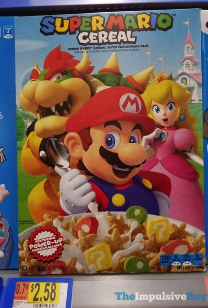Kellogg s Super Mario Cereal Alternative Box