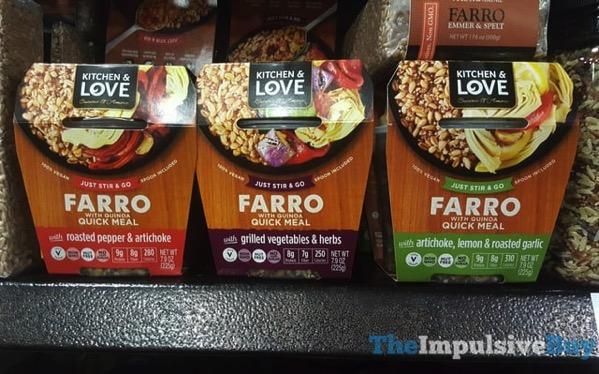 Kitchen  Love Farro with Quinoa Quick Meals