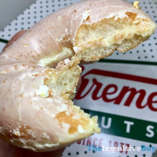 Krispy Kreme Lemon Glaze Doughnut 3