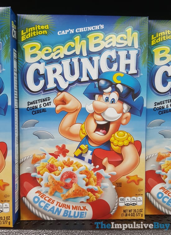 Limited Edition Cap n Crunch s Beach Bash Crunch Cereal