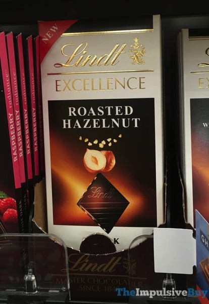 Lindt Excellence Roasted Hazelnut Bar