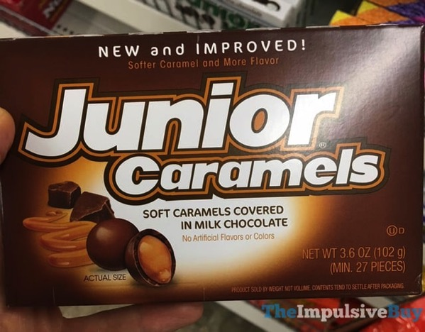 New and Improved Junior Caramels