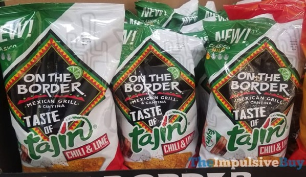 On The Border Taste of Tajin Chili  Lime Tortilla Chips