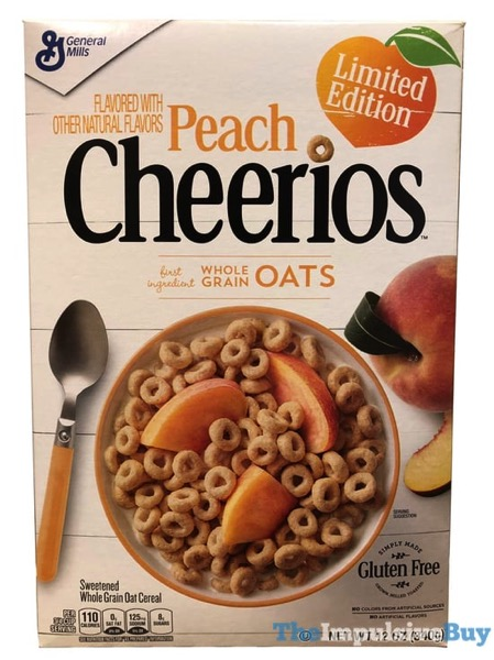 Peach Cheerios Cereal