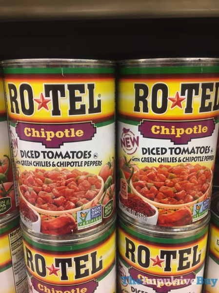 Ro Tel Chipotle Diced Tomatoes