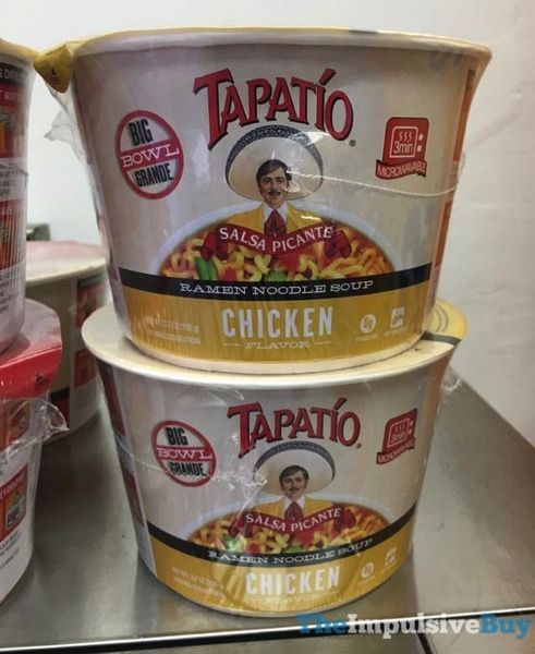 Tapatio Chicken Ramen Noodle Soup