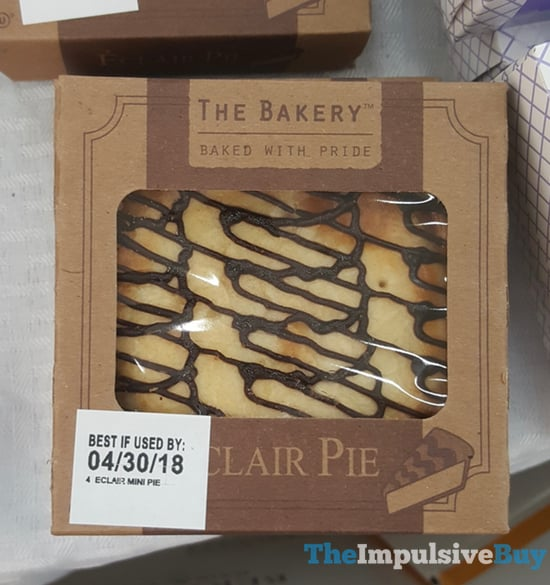 The Bakery at Walmart Eclair Pie