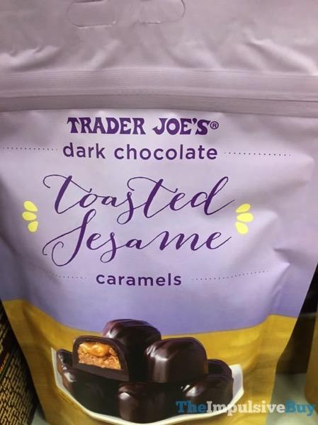 Trader Joe s Dark Chocolate Toasted Sesame Caramels