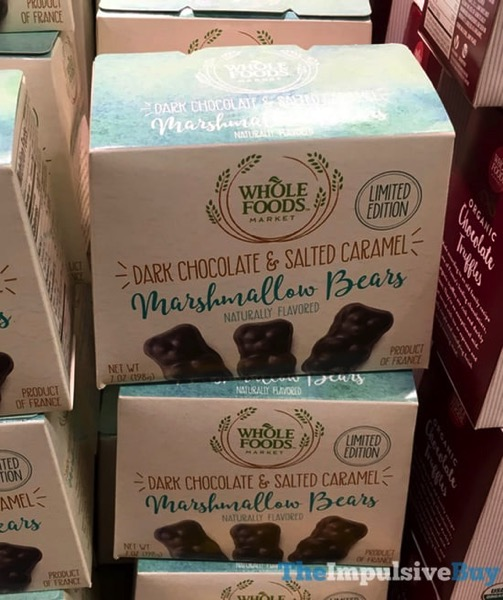 Whole Foods Limited Edition Dark Chocolate  Salted Caramel Marshmallow Bears