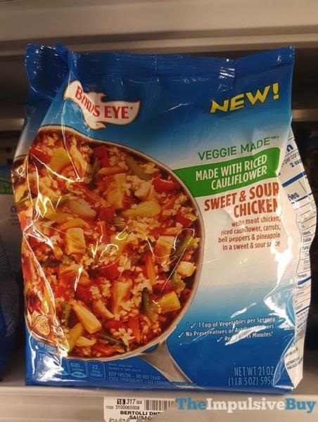 Birds Eye Veggie Made Sweet  Sour Chicken