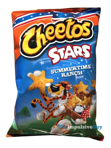 Cheetos Stars Summertime Ranch
