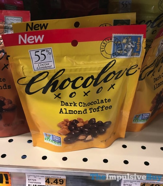 Chocolove Dark Chocolate Almond Toffee