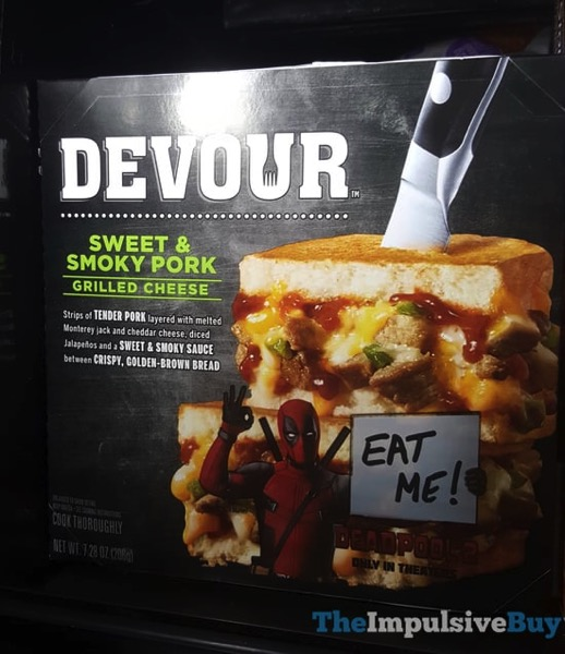 Devour Sweet  Smoky Pork Grilled Cheese