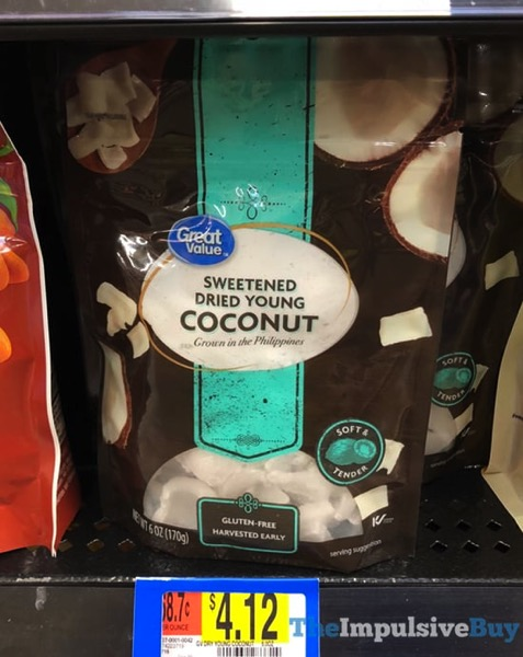 Great Value Sweetened Dried Young Coconut
