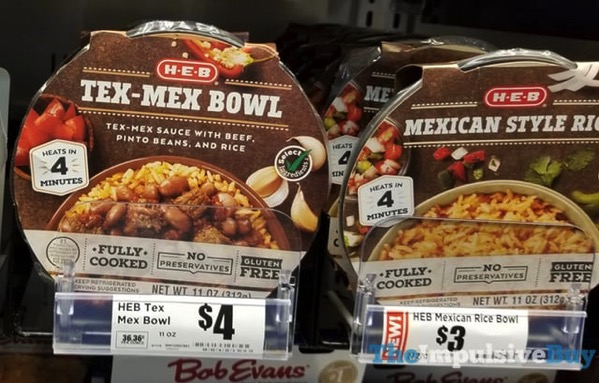 H E B Bowls  Tex Mex and Mexican Style Rice