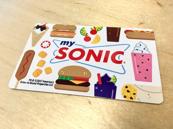 Image result for $25 Sonic Gift Card