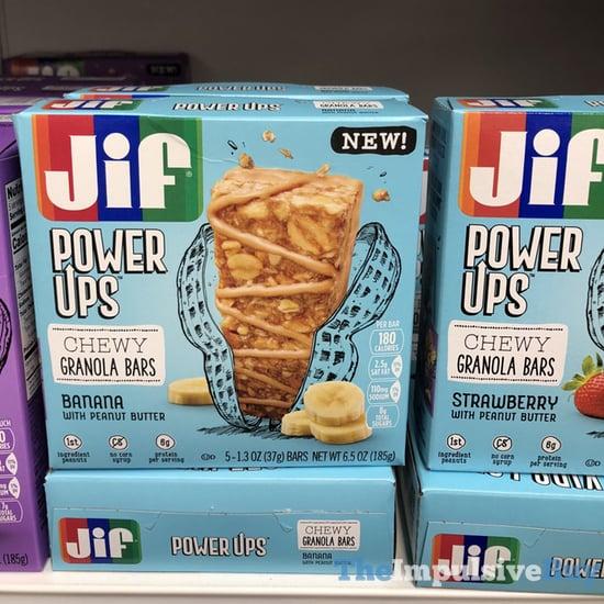 Jif Power Ups Chewy Granola Bars  Banana and Strawberry