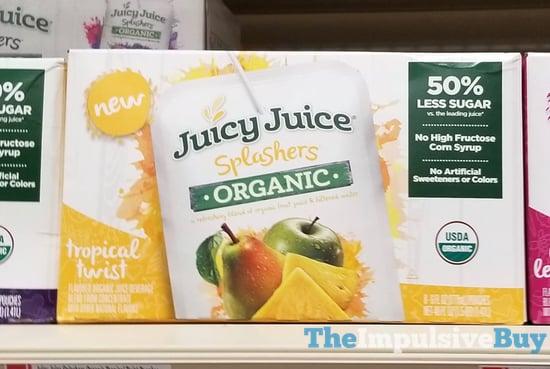 Juicy Juice Splashers Organic Tropical Twist