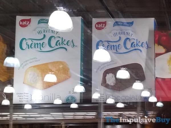 Katz Vanilla and Chocolate Heavenly Creme Cakes