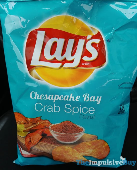 Lay s Chesapeake Bay Crab Spice Potato Chips