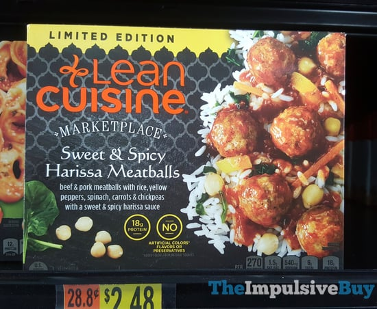 Lean Cuisine Marketplace Limited Edition Sweet  Spicy Harissa Meatballs