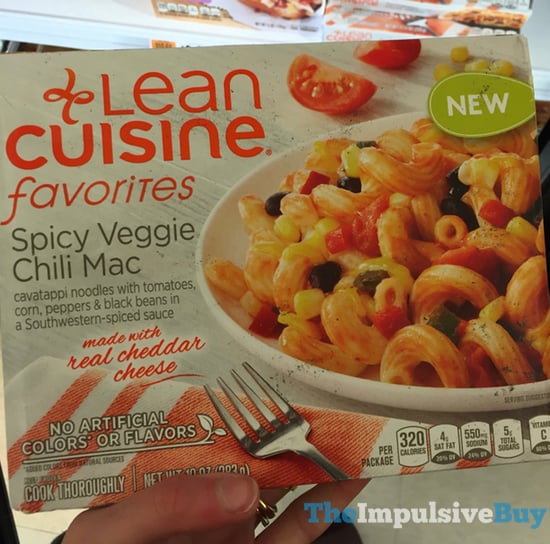 Lean Cusine Favorites Spicy Veggie Chili Mac
