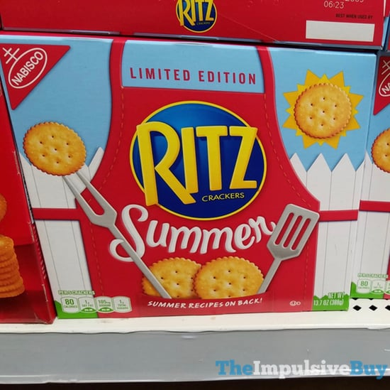 Limited Edition Summer Ritz Crackers  2018 Design