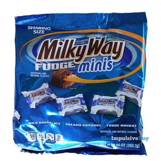 Milky Way Fudge Minis